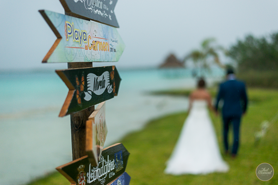 Bacalar Wedding Photo