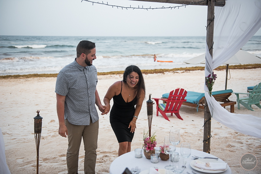 Proposal photo session Cabañas La Luna Tulum