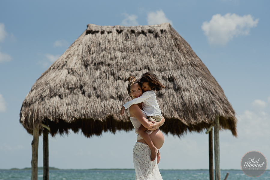 Pregancy Photo Session Tulum