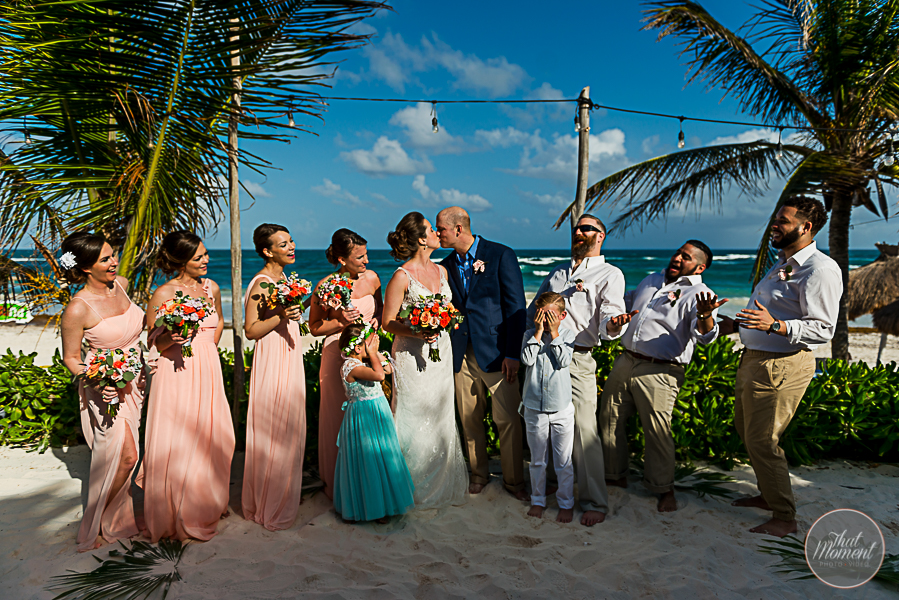 Wedding Photographer Cabañas La Luna Tulum