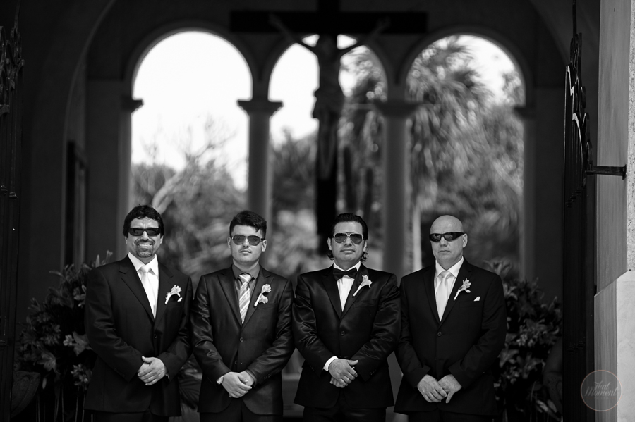 Groom with best friends wedding