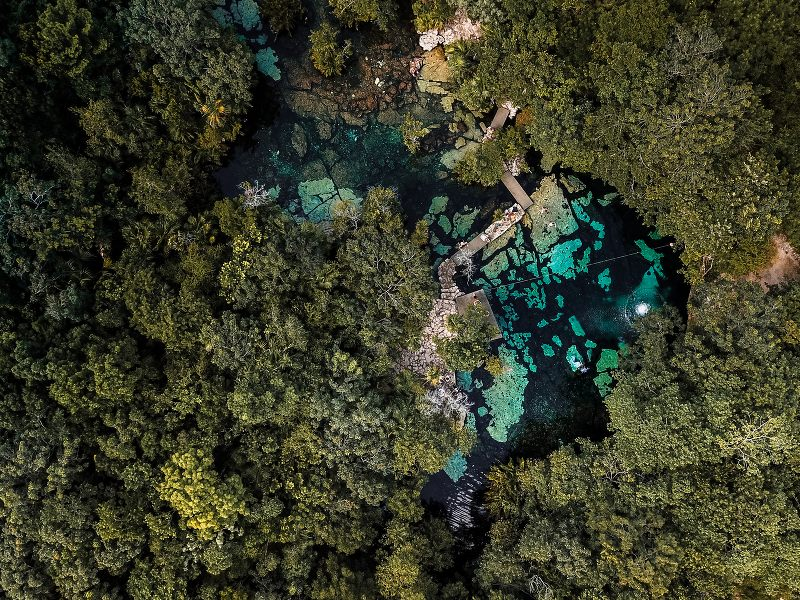 Why Riviera Maya is the Perfect Location for your Elopement Wedding: Cenotes